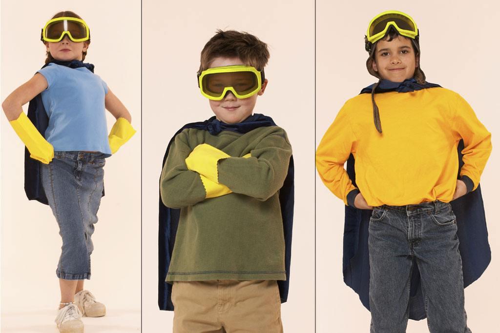 verschiedene superhelden themen zum kindergeburtstag