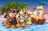 Pirat Schatzsuche