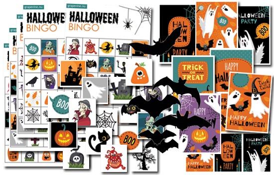 halloween vorlage gratis